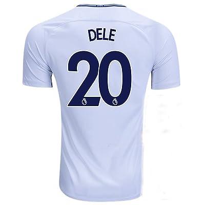 2017/2018 Season Dele #20 Tottenham Hotspur Home Mens Soccer Jersey White Size M