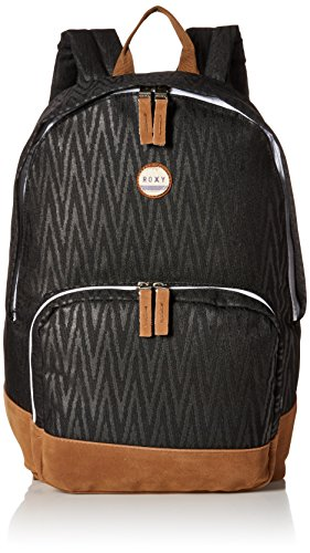 roxy-juniors-pink-sky-polyester-backpack-black-chevron-one-size