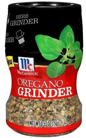 McCormick Oregano Fresh Spice Grinder, .53 Oz (Pack of 4) by McCormick