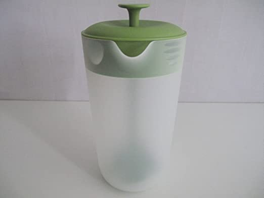 Compra TUPPERWARE Blossom zumo de café jarra con tapa verde ...