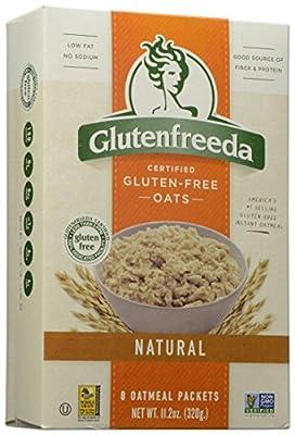 Glutenfreeda Certified Gluten-Free Oats Natural Oatmeal Packets - 8 CT (Net Wt. 11.2 oz)