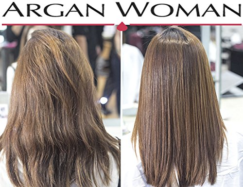 Hair Dryer Nozzle Box, 3 pro salon Styling Nozzles for hair dryer 1 concentrator nozzle and argan oil botle 1 wide nozzle & high pressure nozzle Best straightening for damaged, dry hair & hair loss by Argan Woman (Image #3)