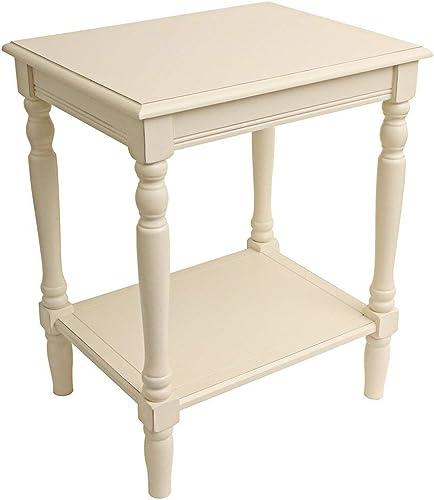 Decor Therapy Table, White
