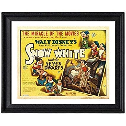Amazon Snow White And The Seven Dwarfs 1937 6 Picture Frame