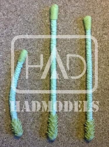 HADモデル ヤシの木3本セット 12・19・21cm x 各1本入り エッチングなし 情景用素材 HADPT006