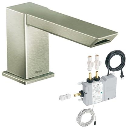 Moen TS9031BN 90 Degree Roman Tub Faucet Diverter with ioDIGITAL ...