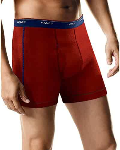 Hanes Men's Sports-Inspired Boxer-Brief (Pack of Five) (Color and print may vary)
