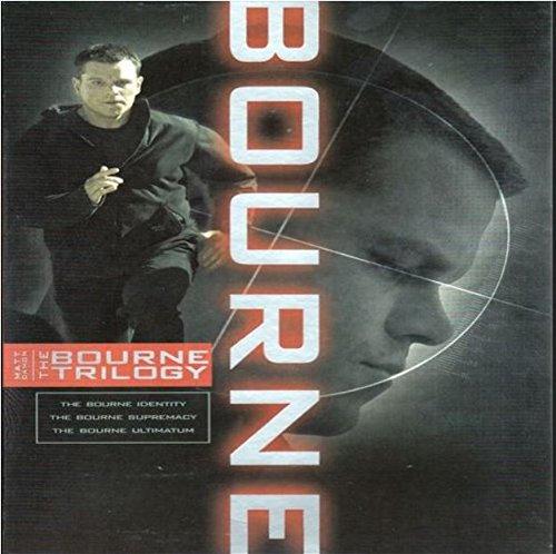 The Bourne Trilogy (The Bourne Identity / The Bourne Supremacy / The Bourne Ultimatum) (Bilingual) Matt Damon Franka Potente Julia Stiles Chris Cooper