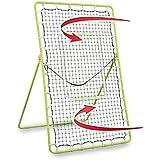 Rukket Tennis Practice Rebounder Net | Rebound Wall for Pickleball & Racquet Sports Ball | Portable Backboard for Indoor & Outdoor Training