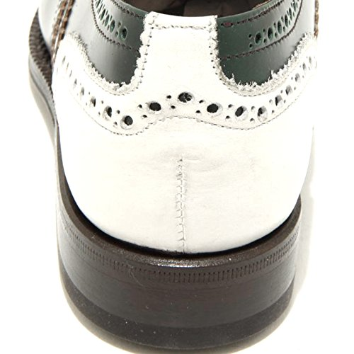 marrone scarpa donna verde Multicolor GREEN all'inglese 97cal POLISHED GEORGE bianca 3055G HF7taH
