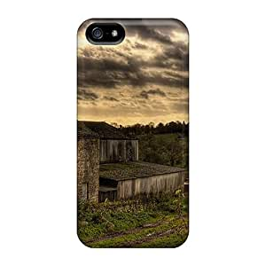 Snap-on Case Designed For Iphone 5/5s- Farm Road