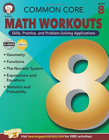 Common Core Math Workouts, Grade 8 - Geometry Common Core