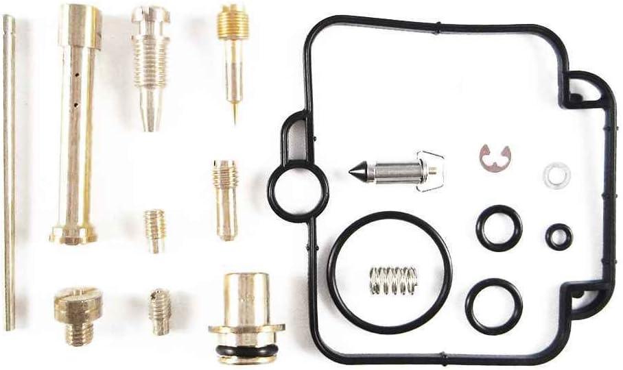 Vkospy Rebuild Kit f/ür Carb Satz Reparatur Vergaser Rebuild 94-99 DR350SE 94-99 DR350 SE DR 350