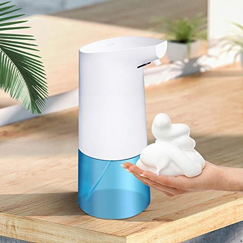 YEENOR Automatic Soap Dispenser 12oz Touchless Foaming Soap Dispenser for Kitchen for Hands for Bathroom ABS Dispenser White