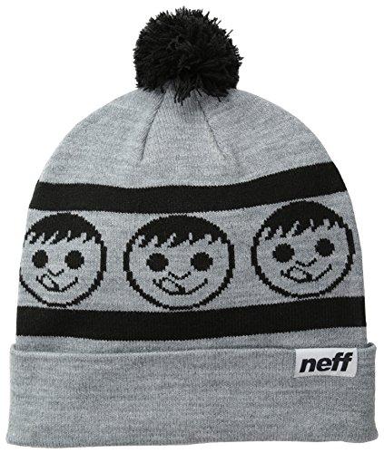 Neff Mütze Standard - Gorro de esquí para hombre gris / negro