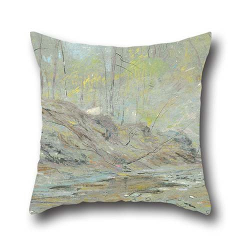 Pillow Shams 16 X 16 Inches / 40 By 40 Cm(each Side) Nice Choice For Kids Room,relatives,home Office,bench,car,pub Oil Painting Dwight Williams - St. Gauden's Glen, Ohio ()