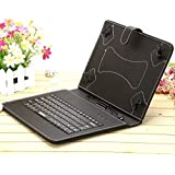 "IRULU New Portable 10.1"" 10.5"" Android Tablet USB Keyboard Case - Black"