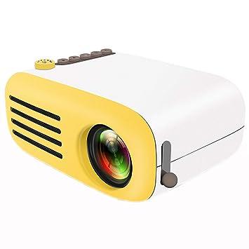 Amazon.com: Mini proyector LED portátil proyector Pico gran ...