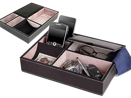 alaygreen® Nueva premium 5 compartimento Valet bandeja – PREMIUM ...