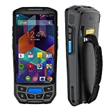 MUNBYN 3G 4G Rugged Handheld Android 7.0 POS Terminal with Touch Screen Bluetooth GPS and Honeywell Barcode Scanner for 1D 2D PDF417