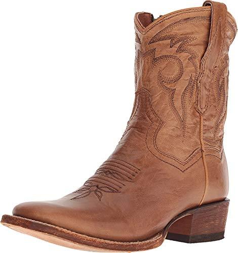 Dan Post Womens Bay Apache Cowboy Boots Leather Broad Square Toe 8 M