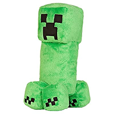 "JINX Minecraft 10.5"" Creeper Plush Stuffed Toy (Unboxed with Hang Tag)"
