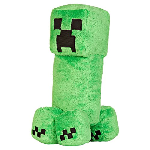 JINX Minecraft Creeper Plush Stuffed Toy (Green, 10.5
