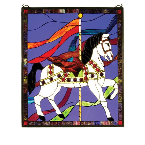 Carousel Horse Window Panel (31272 Carousel)