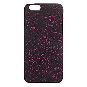 4.7i Universe & Stars tone Noctilucence PC shield Case for iPhone 6 Rose Red