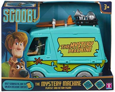 Playset e Action Figure Scoob Mystery Machine