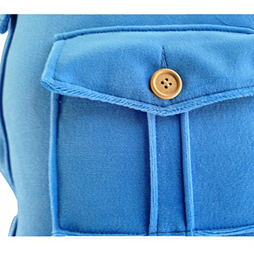 AreTop Boyfriend Pillow Arm Soft Throw Pillow Body Hug Washable Girlfriend Cushion Bed Gift (Blue)