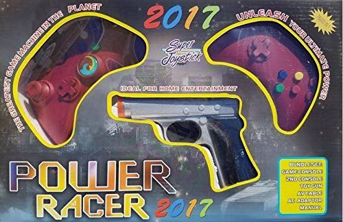 Power Player Racer 2017 Super Joystick Plug and Play Video Game (Joystick Video Games)