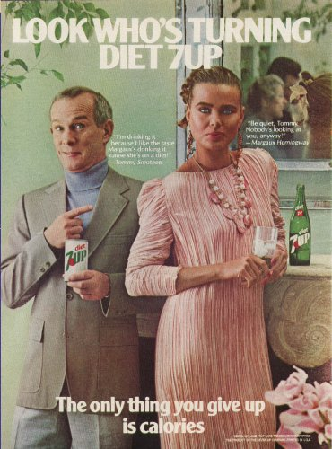tommy-smothers-margaux-hemingway-for-diet-7up-ad-1981