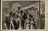 centennial exposition - Centennial Exposition African American Family 1876 great old print for display