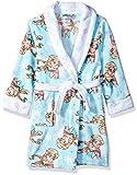 Disney Girls' Little Frozen Elsa Luxe Plush Robe, Stream, 6
