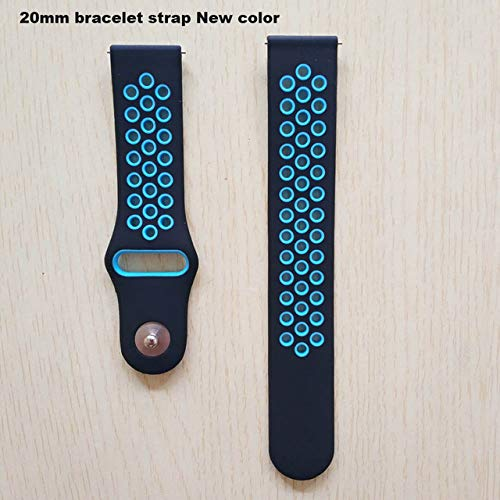 Amazon.com: XuBa Bracelet 20mm Watch Wrist Strap Accessories ...