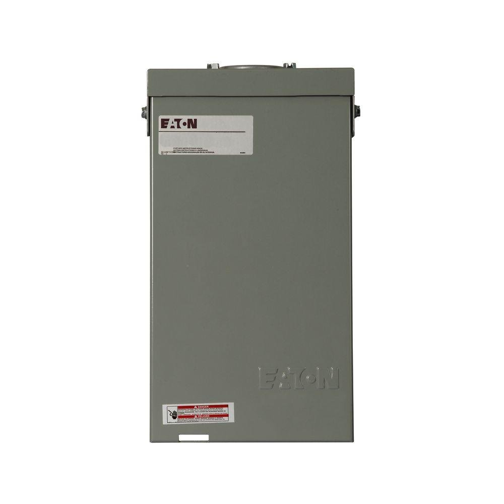 Eaton 40 Amp 4-Circuit Type CH Spa Panel with Self Test GFCI