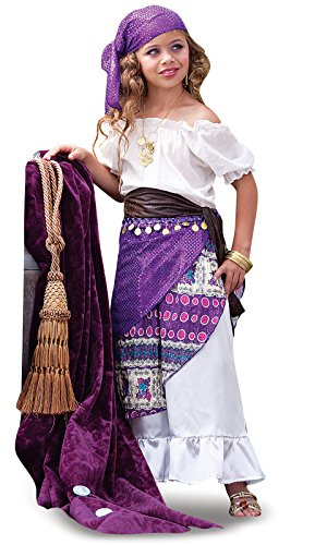 Fortune Teller Costume For Girls - Gypsy Child