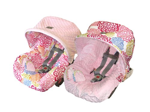 Itzy Ritzy Baby Ritzy Rider Infant Car Seat Cover, Fresh Bloom, Baby & Kids Zone