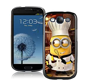 Beautiful And Unique Designed Case For Samsung Galaxy S3 With Minion Chef Phone Case