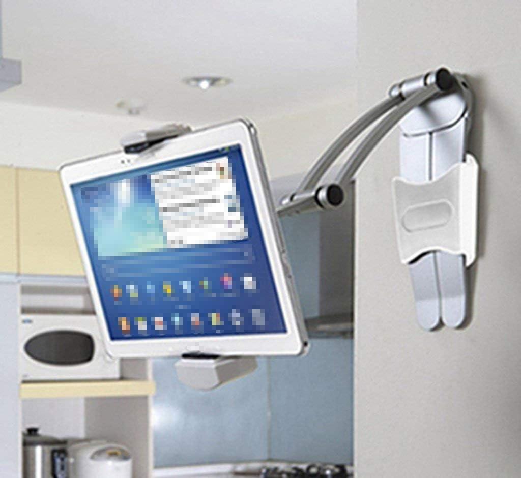 Guotail Support Anti-d/érapant Tablet PC Support de Cuisine Mural Support de Tablette pour 7-12 Pouces onglets,Black