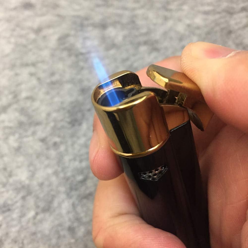Lanzador de llamas de gas butano Soldadura Soldadura pluma Recargables Jet l/ápiz Llama 1300 ? negro Jet antorcha de la llama de encendido de fuego m/ás ligero 1pc gas butano recargables