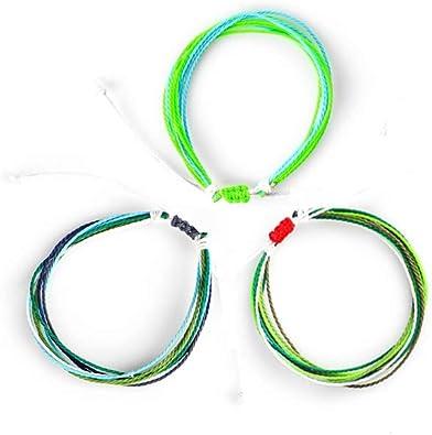 wax string bracelet boho anklet simple bracelet waterproof bracelet adjustable Single string letter bracelet wax cord minimalist