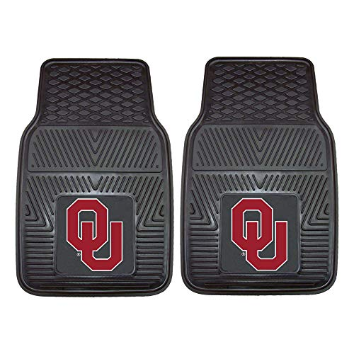 Ncaa Heavy Duty Vinyl - FANMATS NCAA University of Oklahoma Sooners Vinyl Heavy Duty Car Mat