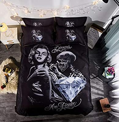Galaxy Printed Duvet Cover Bedding Set Single Double /& King