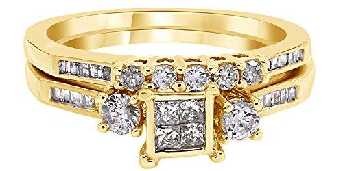 0.4 Ct Yellow Diamond - 5