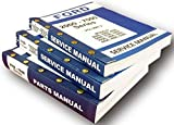 Lot New Ford 5200 5000 Series Tractor Service Repair Shop Parts Manuals Catalog
