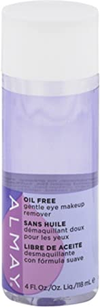 Almay Oil-Free Gentle Eye Makeup Remover Liquid, 4 ounces Pack of 3