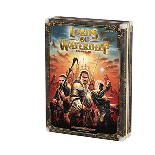 Lords of Waterdeep: A Dungeons & Dragons Board Game (Set Dragon Coin Gold)