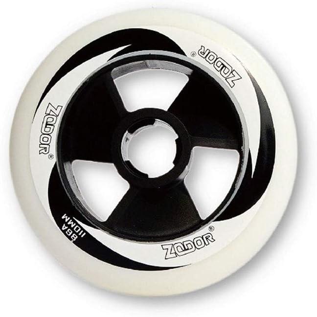 ailj インラインスケートホイール、スケーティングホイール、ローラーシューズに適して90MM-110MMホイール(2色) (色 : 白, サイズ さいず : 100MM) 白 100MM
